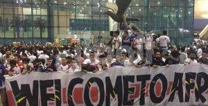 «الزمالك قادم» في ليموزين مطار القاهرة الدولي